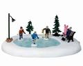 Lemax Holiday Hockey